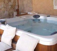 Photo du spa qui a retenu notre attention et que nous avons commandé la semaine passée: Spa serenity S50 de chez Clairazur Cachan