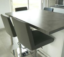 tabouret de bar aura gris de chez but
