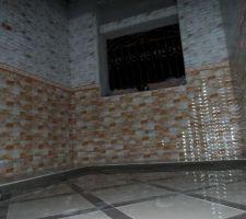 Carrelage de sol et de mur cuisine