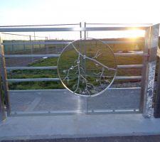 portail du jardin
