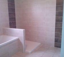 Salle de bain coté bac a douche