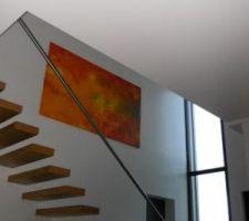 tableau du vide sur hall