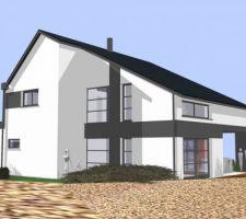 maison contemporaine sundgau