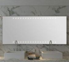 Miroir a led pour salle de bain,  140cm * 60cm