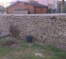 mur en pierres seches