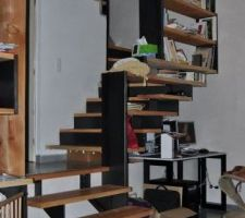 vue de l escalier