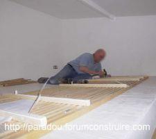 Fabrication du garde corp