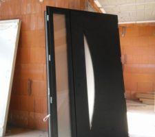 La porte d'entrée de 120 cm