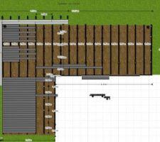 plan de la terrasse