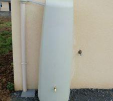 Notre nouveau récupérateur d'eau !