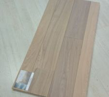 Notre parquet : solidfloor atlanta 10mm special plancher chauffant rafraichissant.