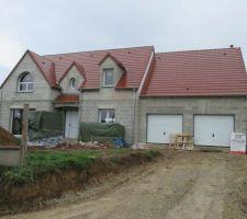 construction maison lelievre sur base celia 3 4