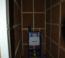 bati wc suspendu etage