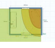 Plan de la salle de bain