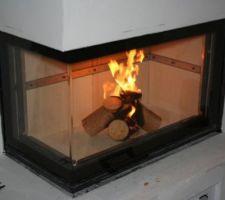 Le premier feu pour tester que tout est ok.