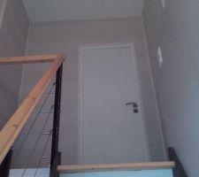 Palier vu de l escalier