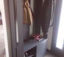 meuble vestiaire fait maison