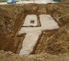 fouilles de fondation