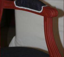 Le vieux fauteuil refait à neuf !