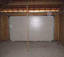 Vue du garage intérieure