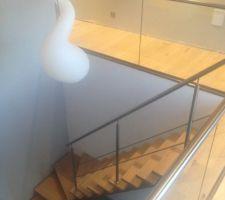 notre escalier sans les protections